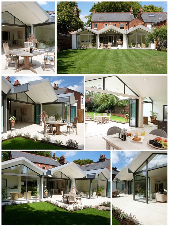 A striking house extension in Hitchin